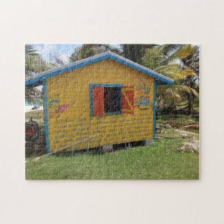 Rum Shack Barbados. Jigsaw Puzzle