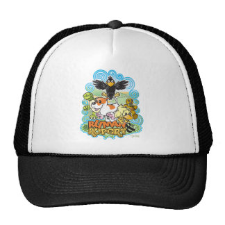 Ruman and Rupert Crest Trucker Hat