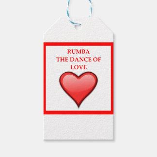 RUMBA GIFT TAGS