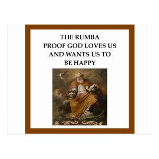 rumba postcard