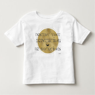 "Rumi ""Destroy your Reputation, Be Notorious"" Shirt"