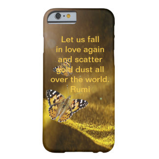 Rumi Fall in love again Barely There iPhone 6 Case