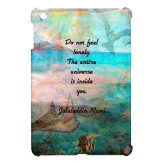Rumi Inspiration Quote About The Universe iPad Mini Cover
