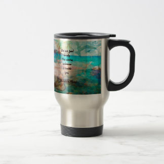 Rumi Inspiration Quote About The Universe Travel Mug
