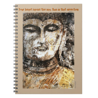 Rumi Inspiration Quote Buddha Art Journal