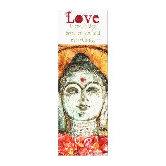 Rumi Love Quote Watercolor Canvas Wall Art