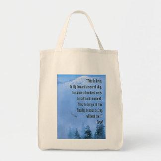 Rumi on Love Tote Bag