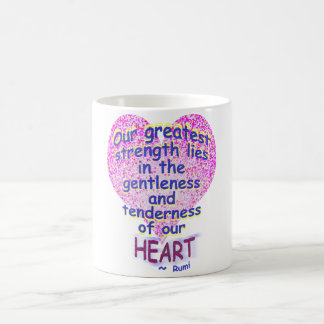 Rumi: Our Greatest Strength Coffee Mug