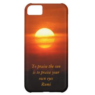 Rumi Praise the sun iPhone 5C Cases