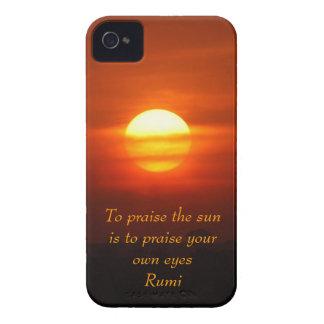Rumi Praise the sun Case-Mate iPhone 4 Case