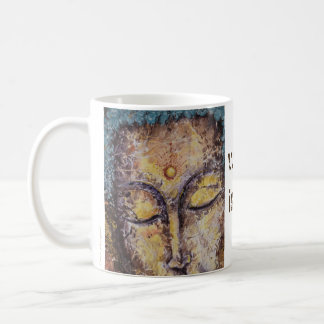 Rumi Quote Buddha Art Coffee Mug