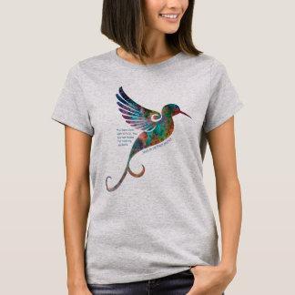 Rumi Quote with Hummingbird Women's Shirt