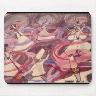 """Rumi Revolution"" Mouse Pad"