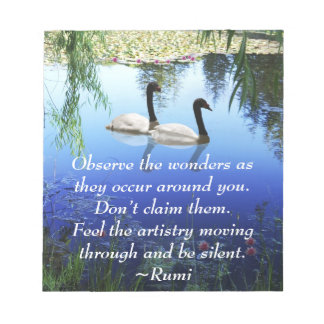 Rumi The wonders Notepad