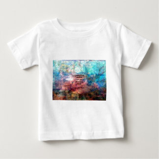 Rumi Uplifting Quote About Energy And Universe Baby T-Shirt