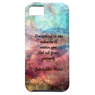 Rumi Uplifting Quote About Energy And Universe Case For The iPhone 5