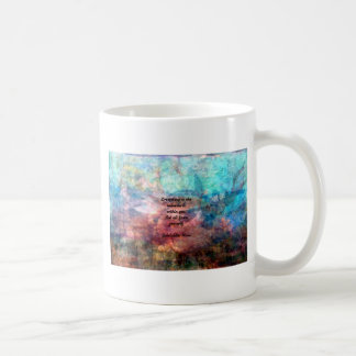 Rumi Uplifting Quote About Energy And Universe Coffee Mug