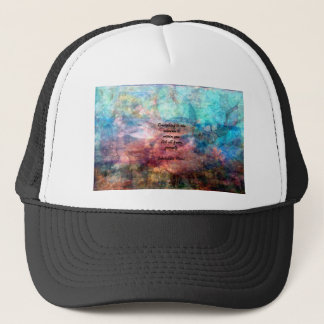 Rumi Uplifting Quote About Energy And Universe Trucker Hat