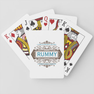 Rummy Custom Family Cards Deck