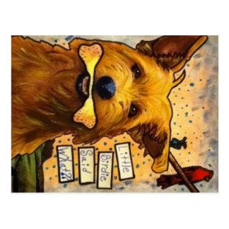 Rumour Dog Postcard
