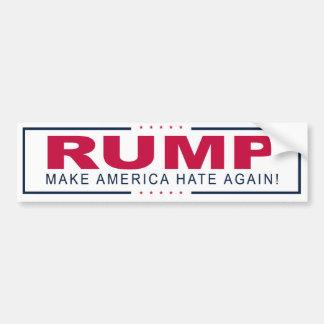 RUMP Bumper Sticker