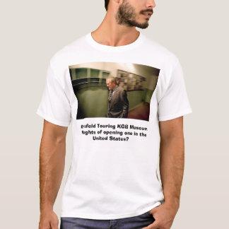 Rumsfeld Touring KGB Museum T-Shirt