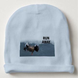 Run away baby beanie