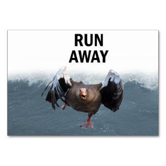 Run away card