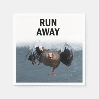Run away disposable napkins