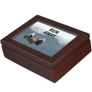 Run away keepsake box