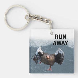 Run away keychain