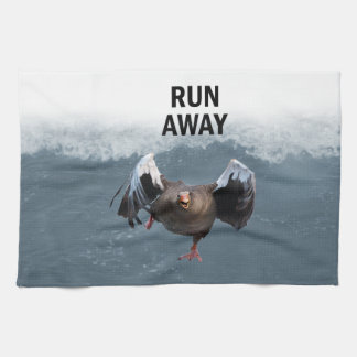 Run away kitchen towel