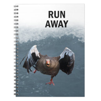 Run away notebook