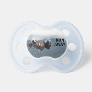 Run away pacifier