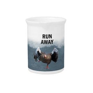 Run away pitcher