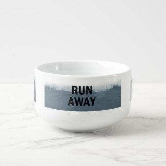 Run away soup mug