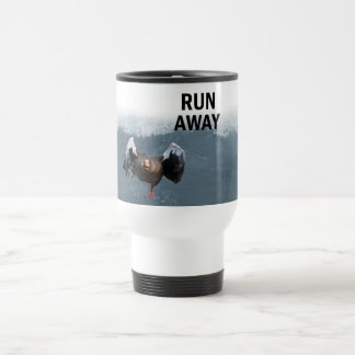 Run away travel mug