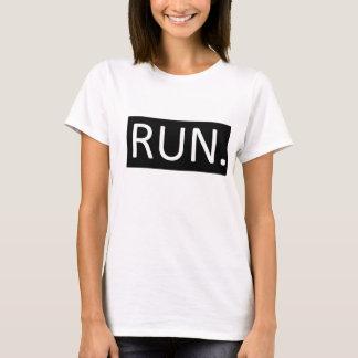 Run. B/W T-Shirt