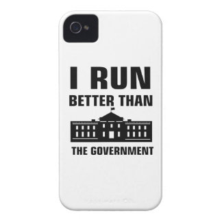 Run better than the Government iPhone 4 Case-Mate Cases