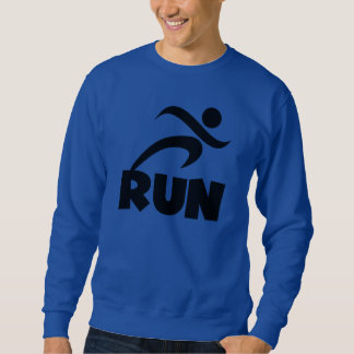 RUN Black Sweatshirt