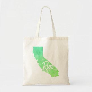 Run California Tote Bag
