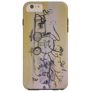 Run Cinderella, Run Tough iPhone 6 Plus Case