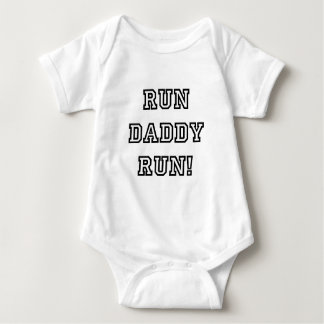 Run Daddy Run! Baby Bodysuit