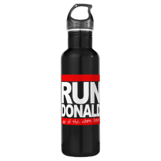 Run Donald Out of the White House - - white - 710 Ml Water Bottle