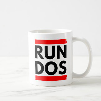 RUN DOS COFFEE MUG