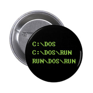run dos run 2 inch round button