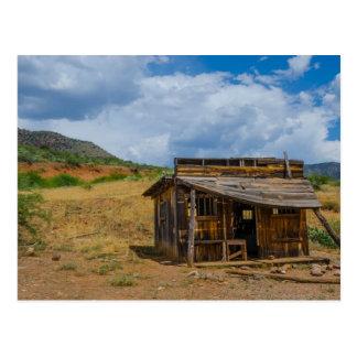 Run Down Shack Salt River Canyon Postcard