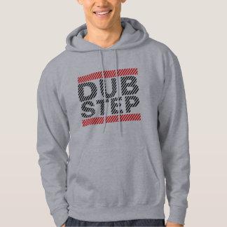 Run Dubstep Hoodie Light Grey