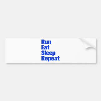 run-eat-sleep-repeat-ak-blue.png bumper sticker
