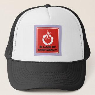Run Fast in Circles Trucker Hat